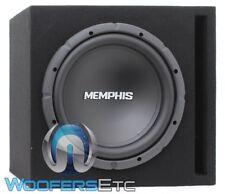 "MEMPHIS 12SRXBOX 12"" CAR AUDIO SUBWOOFER BASS SPEAKER + PORTED ENCLOSURE BOX NEW"
