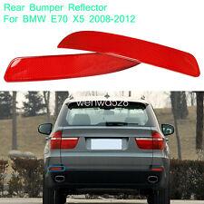2X Rear Sport Bumper Lens Reflector Housing Light Tail Lamp For BMW X5 E70/71