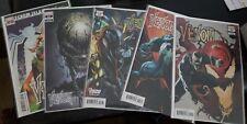 Venom 21 Set of Five Variants: Cover A, Crain, 2020, 1:25 Bagley, 1:50 Rivera
