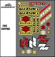 Sticker/Decal set for Suzuki RM80 RM85 RM125 RM250