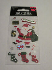 Scrapbooking Stickers Sandylion Christmas Santa Claus Sack Presents Stockings Ho