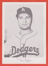1960 Danny Goodman 5x7 picture Norm Larker Los Angeles Dodgers (KCR)