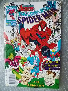 Comic- The Complete Spider-Man, No.19, 22 April 1992 by Marvel Comic (100 pages)
