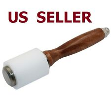 US SHIPStrengthen PE Wooden Material Leather Cutting Hammer Craft Stamping Tools