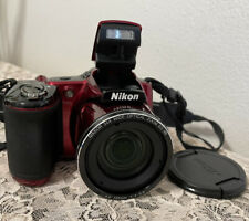 NIKON RED CAMERA L830 Digital 34X Zoom 16 MegaPixels THIS IS A DEAL!+ Batteries