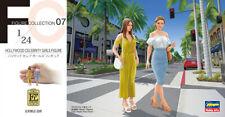 Hasegawa 1/24 FC07 (29107) Hollywood Celebrity Girls Figure (2 Figures)