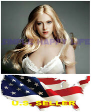 ❶❶1/6 European American Female Head sculpt Kimi Toys KT004 Hot Toys Phicen USA❶❶
