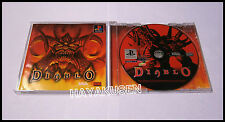 DIABLO VERY RARE JAPANESE IMPORT PSX PS1 PLAYSTATION