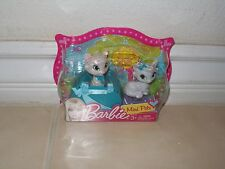 2012 Barbie Mini Pets Cats and a carry on X2489