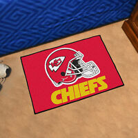 "NFL - Kansas City Chiefs Durable Starter Mat - 19"" X 30"""