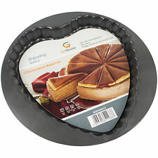 A forma di cuore torta torte COTTURA TIN ANTIADERENTE base Flan quiche pasticceria Forno Vassoio