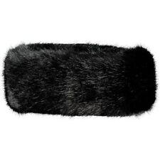 Chapeaux noire en fourrure pour femme