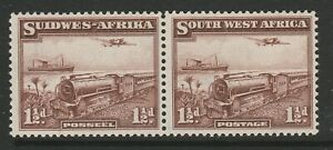 South West Africa 1937 1½d Deep purple-brown shade CW1a Mnh.