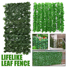 Artificial Leaf Hedge Roll Privacy Fence Screen Hedging Wall Cover