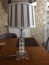 Laura Ashley Glass Table Lamp