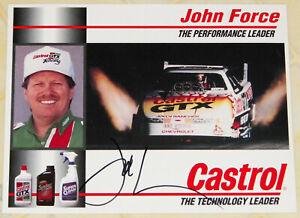 "VINTAGE 1994 SIGNED ""JOHN FORCE"" CHEVROLET AA/FUEL F/C DRAG RACING HANDOUT!!!"