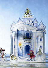 Duckling Christmas Card - Frost Castle - #DK-CH-2403-09-02