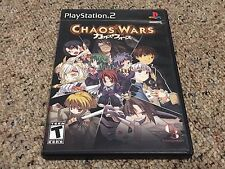 Chaos Wars (Sony PlayStation 2, 2008) Complete + Tested