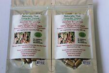 Organico radice di Zenzero 100% - 500 mg x 120 VERDURA Capsule-Superfood naturali