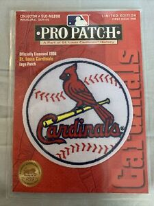 St Louis Cardinals licensed 1998 pro patch sealed collectible baseball fan
