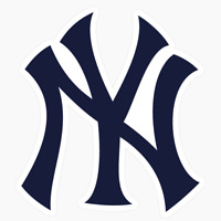 New York Yankees Logo MLB DieCut Vinyl Decal Sticker Buy 1 Get 2 FREE