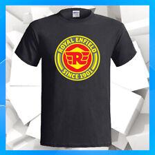 Royal Enfield Since 1901 Logo NEW Men's Black T-Shirt S M L XL 2XL