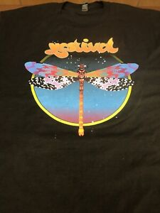 YES Rock Band Yestival Festival Concert Tour Dragonfly T-SHIRT XL  New   P12