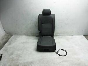 18 19 20 Volkswagen Tiguan 2Nd Row Passenger Right Black Seat With 3Rd Row Seat