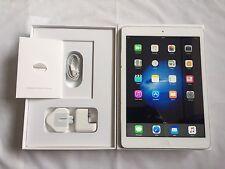 ** Mint** Apple iPad Air- 16GB,Wi-Fi-9.7In Retina display- Silver+ Bundle