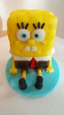 Handmade Edible Fondant SPONGE BOB -  Birthday Cake Topper