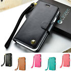 Magnetic Leather Flip Wallet Protective Case Cover For Apple iPhone 7 6S 6 Plus