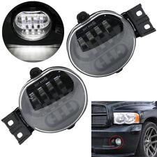 2x Bumper LED Head Spot Fog Light Lamp For Truck Dodge Ram 1500 2500 3500 02-08