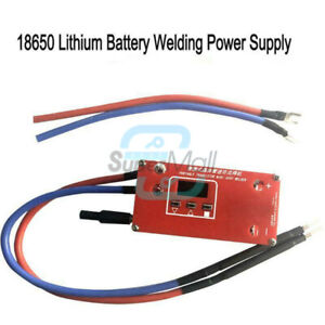 Portable Mini Spot Welder Machine 18650 Battery Various Welding Power Supply DIY