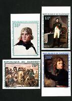 Dahomey Stamps # C97-100 Imperf OG NH