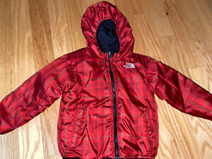 The North Face Boy Reversible Hooded Jacket, Size 4