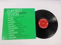 Our Best To You Today's Great Hits Today's Great Stars  LP Various Artists