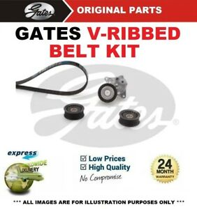 GATES FAN BELT PULLEY KIT for MERCEDES BENZ VIANO CDI 2.0 4matic 2005->on