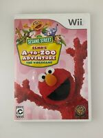 Sesame Street: Elmo's A-to-Zoo Adventure - Nintendo Wii Game - Complete & Tested