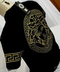 Season Break For ALL BLACK POLO NWT Mens Versace Medusa T Shirt with ALL SIZES
