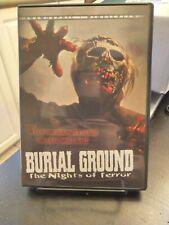 Burial Ground: Night of Terrors (DVD, 2002)