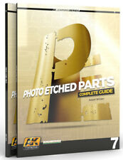 AK Interactive #AKI-244 Photo-Etched Parts Complete Guide Book - Learning Series