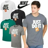 ✅New Nike ICONIC JUST DO IT GYM Mens Sports Short Sleeve Cotton T-SHIRT S-M-L-XL