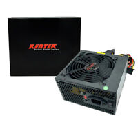 680W Gaming 120MM Fan Silent ATX Power Supply PSU 12V 680 Watt New