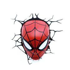 Marvel Spider Man Face 3D Light (pp #1172)