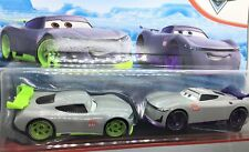 Disney Pixar Cars * RONALD & JUNYI  ** Next Gen Racers *RARE**2 Pack*1/55