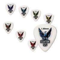 Clayton Acetal Standard Guitar Picks 1 Dozen  choose from 8 gauges 12 pack