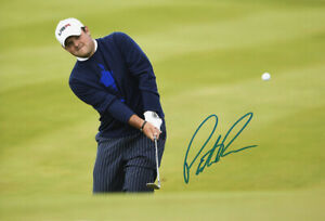 Patrick Reed, Ryder Cup 2014 Gleneagles, signed 12x8 inch photo. COA. Proof.