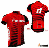 Didoo New Men's Reflective Cool Cycling Half Sleeve Jerseys Top Uniform Jackets