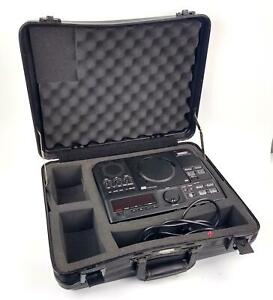 Superscope PSD300 CD Player / Recorder System w/ Case WORKING