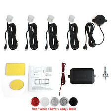 Car Parking Sensor System - 4X Black Buzzer Back Car Sensor + Audible Alarm Box
